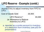 lifo reserve example contd55