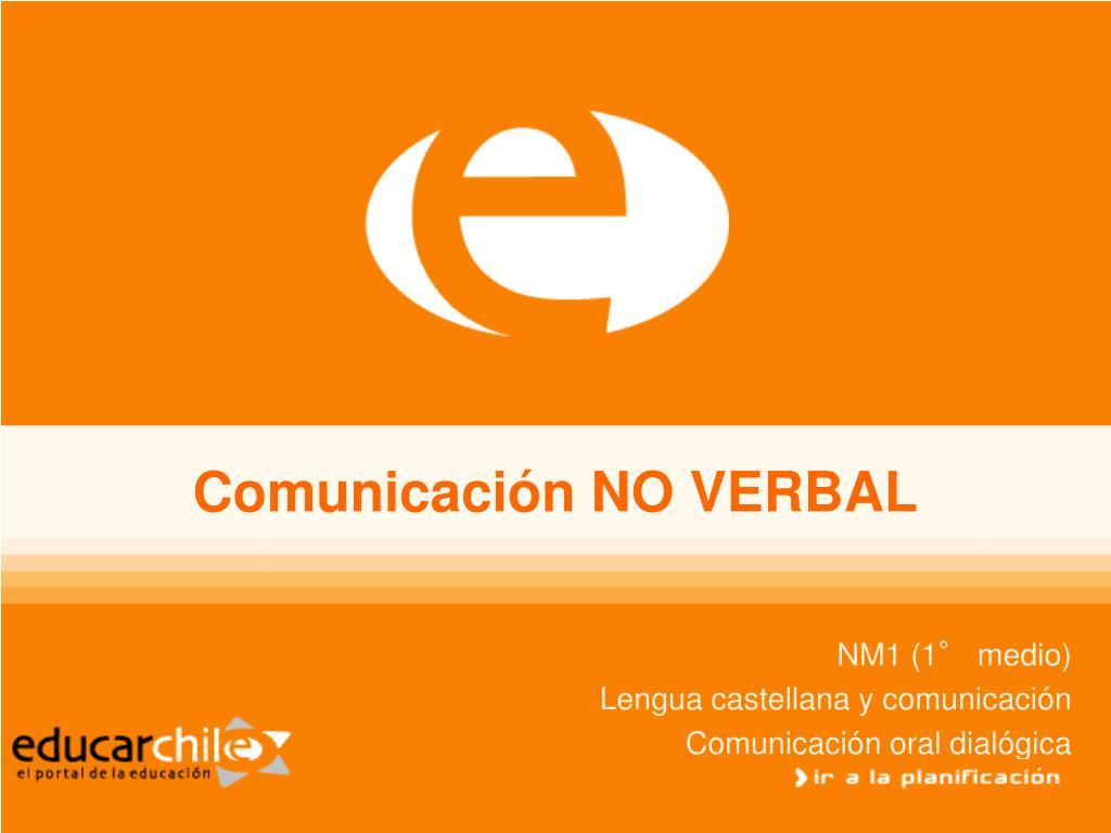 comunicaci n no verbal l.