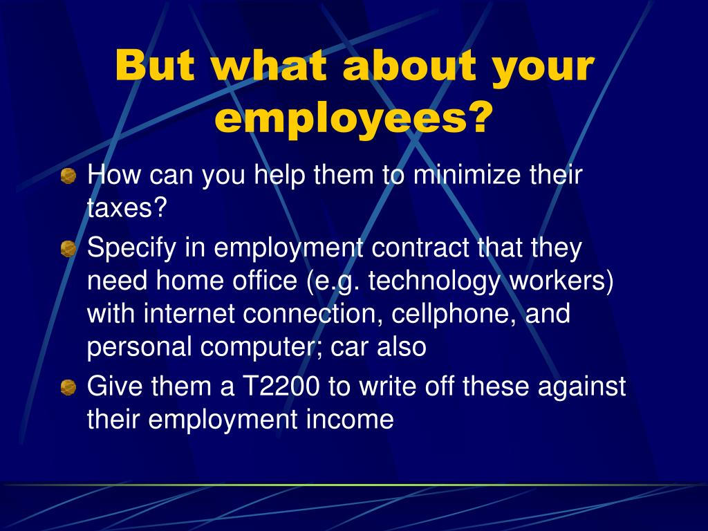 But what about your employees?