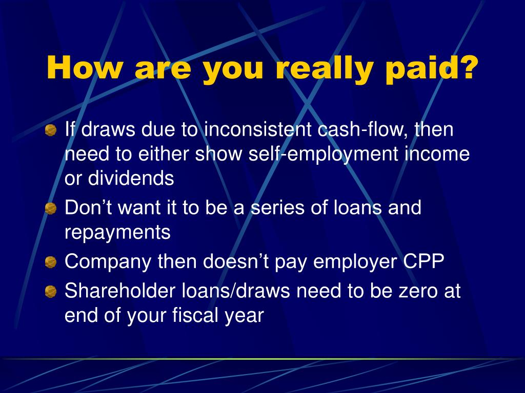 How are you really paid?