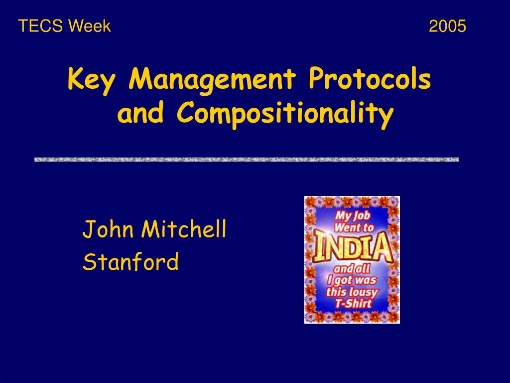 key management protocols and compositionality l.