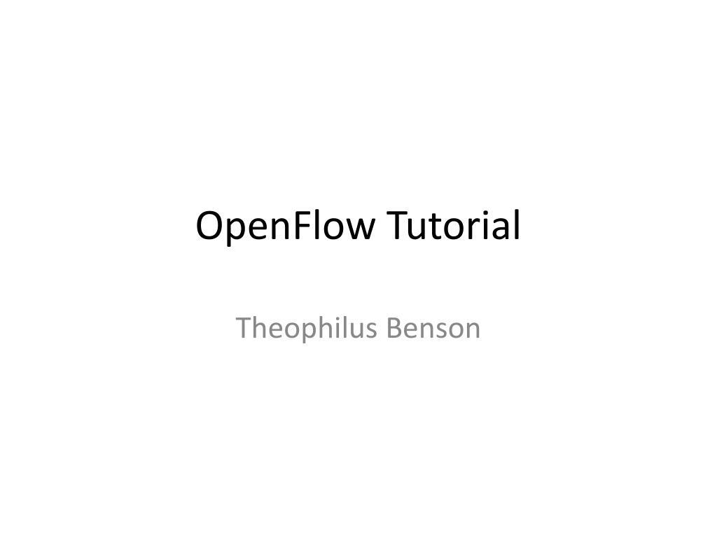 openflow tutorial l.