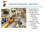 industrial automation machines