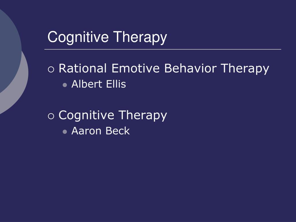 cognitive therapy l.