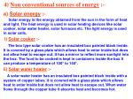 4 non conventional sources of energy