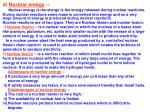 d nuclear energy