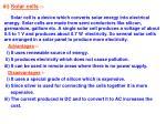 iii solar cells