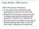 case study cra cont12