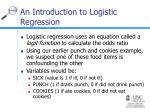 an introduction to logistic regression36