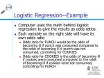 logistic regression example38