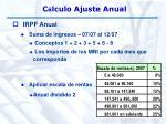 c lculo ajuste anual17
