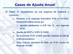casos de ajuste anual23