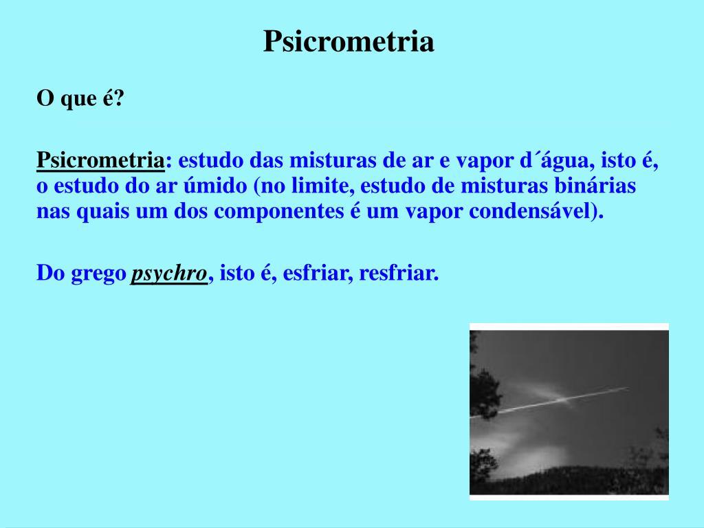 psicrometria l.
