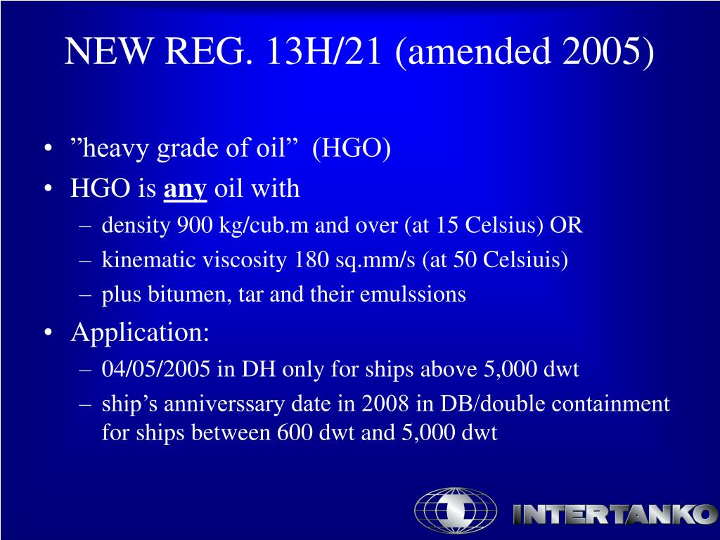 """heavy grade of oil""  (HGO)"