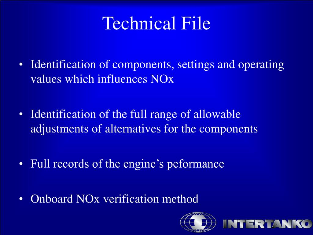 Identification of components, settings and operating values which influences NOx