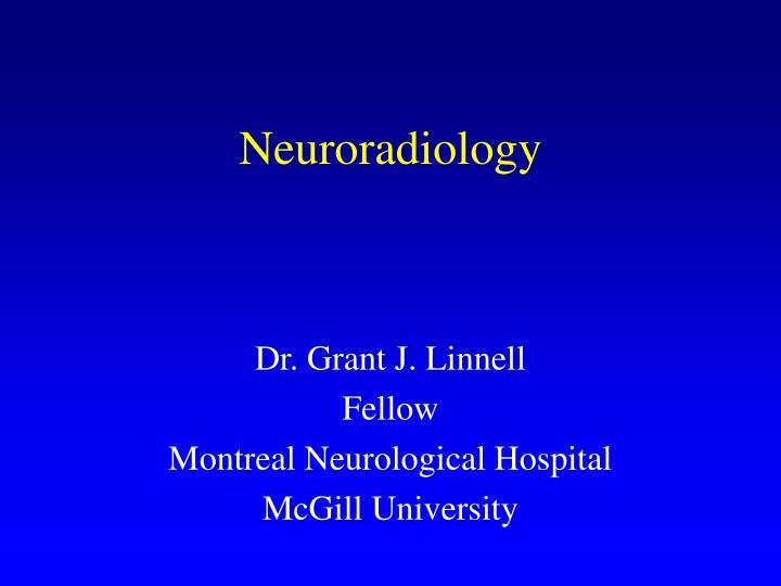 neuroradiology n.