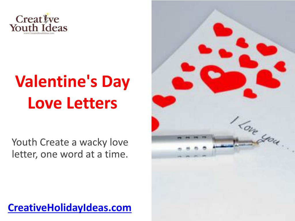 valentine s day love letters l.