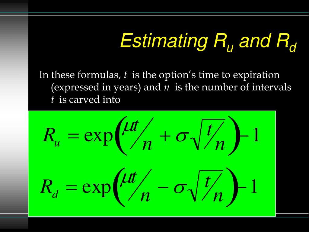 Estimating R