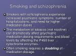 smoking and schizophrenia13