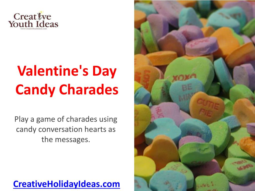 valentine s day candy charades l.