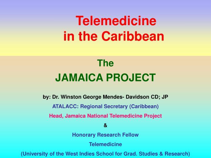 telemedicine in the caribbean n.
