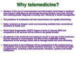 why telemedicine