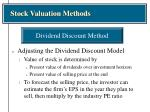stock valuation methods9