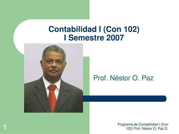contabilidad i con 102 i semestre 2007 n.
