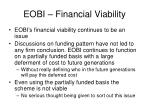 eobi financial viability