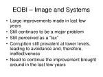 eobi image and systems