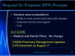 request for proposal rfp process13