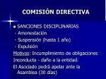 comisi n directiva28