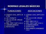 normas legales b sicas