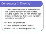 competency 2 diversity25