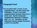 paragraph proof