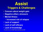 assist triggers challenges25