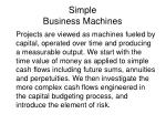 simple business machines