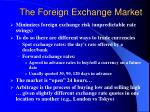 the foreign exchange market7