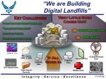 we are building digital landfills