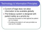 technology information principles