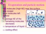 2 evaporation and particle motion12