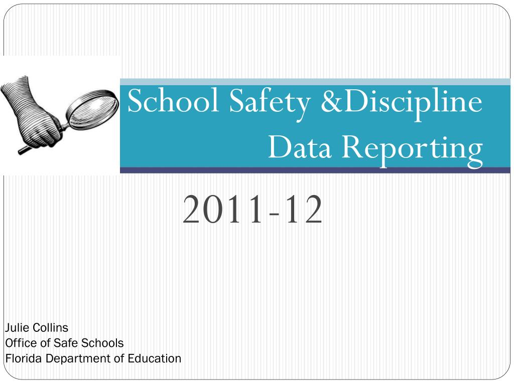 school safety discipline data reporting l.