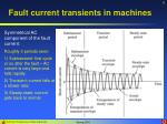 fault current transients in machines8