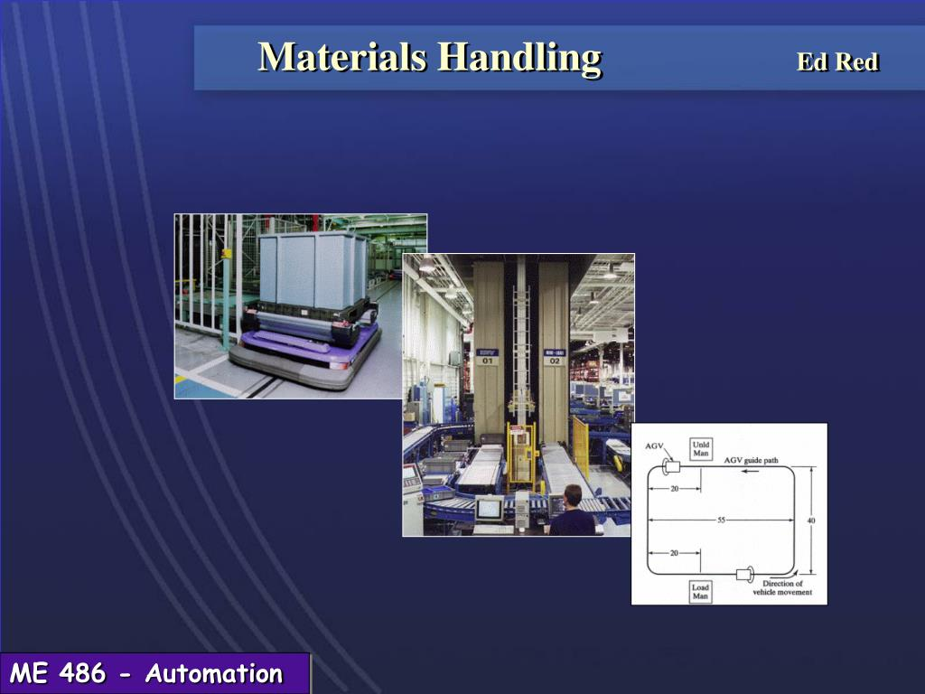 Ppt Materials Handling Ed Red Powerpoint Presentation Free Download Id 230039