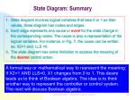 state diagram summary20