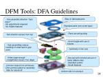 dfm tools dfa guidelines