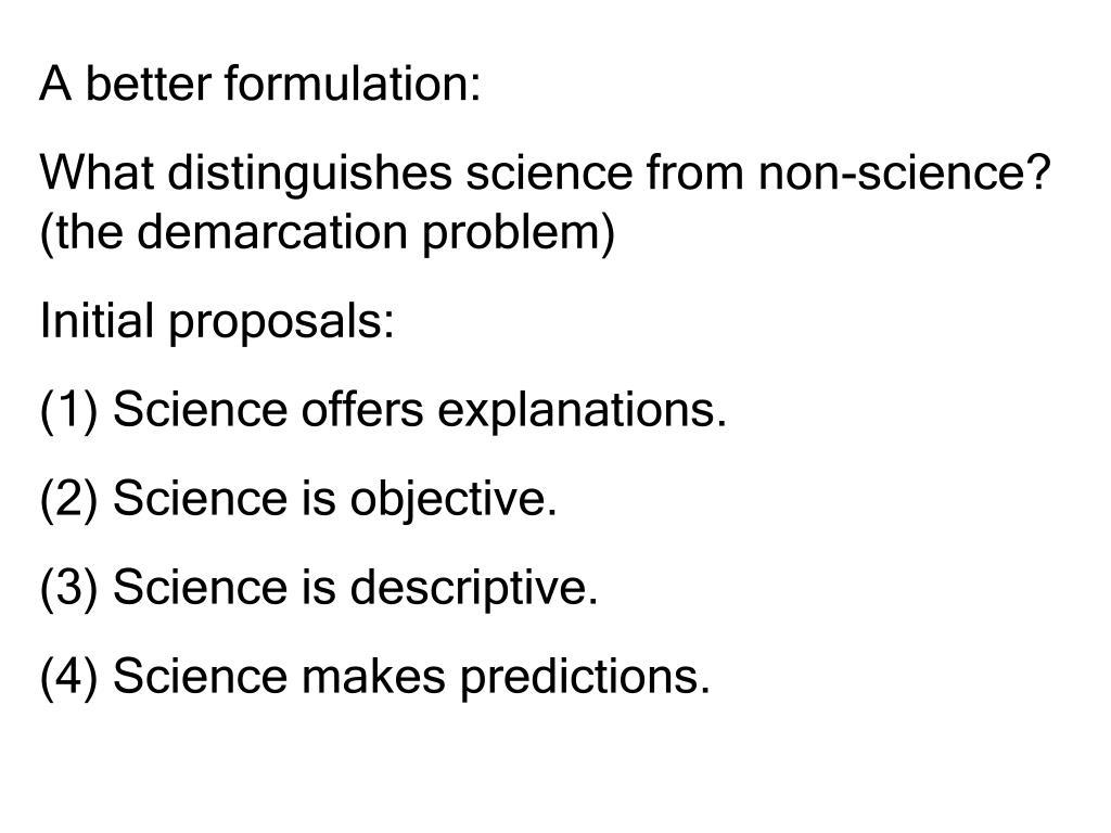A better formulation: