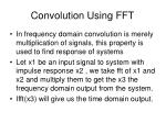 convolution using fft