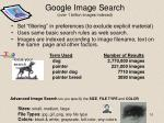 google image search over 1 billion images indexed
