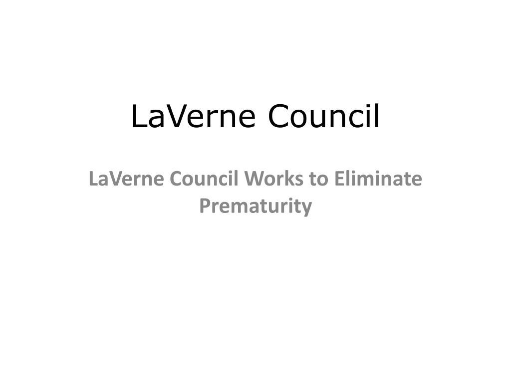 laverne council l.